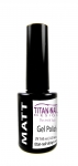 Matte Top  gel polish - 15 ml - surface matting - cures LED + UV