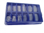 DUAL SYSTEM FORM Tips - Poly Acryl  120 pcs.
