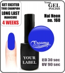 Gel Polish - 8ml - Hai Neon (no. 160)