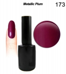 Hybrydowy lakier do paznokci 15ml -GEL Polish Soak Off- MODERN LACK - Metallic Plum (173)