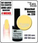 Gel Polish - 15ml - Blanched Banana (no. 220)