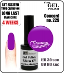 Gel Polish - 15ml - Concord (no. 229)