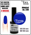 Gel Polish - 8ml - Admiral (no. 230)