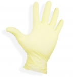 Latex gloves without marshmallows size: M