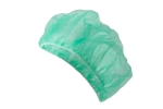 Cap for cosmetic procedures - green