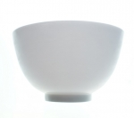 Silicone bowl for masks, algae, 10cm creams- White