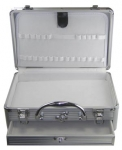 Suitcase small silver
