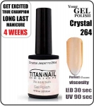GEL Polish 15ml - soak off - Crystal Jasper (no. 264)