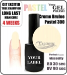 Gel Polish - 8ml - Pastel Creme Brulee (no. 300)