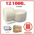 12x Wipes 1000 psc in roll  Made in Germany (pad, pads)