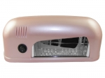 Lamp LED UV for gel polish - pearly pink