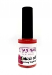 Strawberry with raspberry Cuticle Oil With Vitamins  A, E, F & H - 15ml