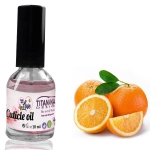 Orange Cuticle Oil With Vitamins A, E, F & H - 10 ml