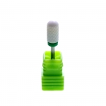 Professional drill - for pulling gel, acrylic, manicure and pedicure - cone M - green