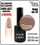 Gel Polish - 8ml - Rude (no. 07)