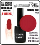 Gel Polish - 8ml - Candy Rot (no. 117)