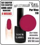 Gel Polish - 15ml - Pur Vino (no. 118)