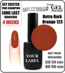 Gel Polish - 15ml - Retro Dark (no. 123)