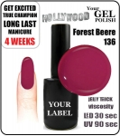 Gel Polish - 15ml - Forest Beere (no. 136)