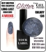 Gel Polish - 8ml - GALAXY (no. 138) glitter