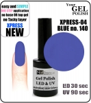 Gel Polish - 15ml - XPRESS-04 BLUE (no. 140)