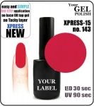 Gel Polish - 15ml - XPRESS-15 (no. 143)