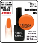 Gel Polish - 8ml - Barca Neon (no. 156)
