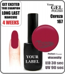 Gel Polish - 15ml - Cereza (no. 167)