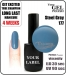 Gel Polish - 15ml - Steel Gray (no. 177)