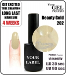 Gel Polish - 15ml - Beauty Gold (no. 202)