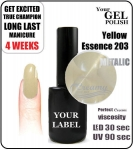 Gel Polish - 15ml - Yellow Essence (no. 203)