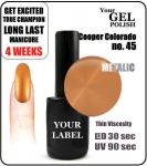 gel polish - smalto - 15ml - Cooper Colorado (no. 45)