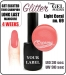 gel polish - smalto - 15ml - Light Coral (no. 69) glitter