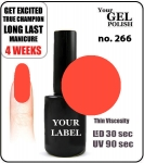 GEL Polish 15ml - soak off - Royal Princess (no. 266)