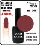 GEL Polish 15ml - soak off - Royal Queen (no. 268)