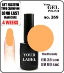 GEL Polish 8ml - soak off - Daiquiri (no. 269)