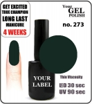 GEL Polish 15ml - soak off - Royal Wild Dog (no. 273)