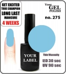 GEL Polish 8ml - soak off - Royal Boy (no. 275)