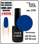 GEL Polish 15ml - soak off - Royal Prince (no. 276)