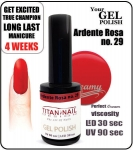 GEL Polish  -  ardente rosa 15ml (29)