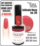 GEL Polish  -  delicato rossa 15ml