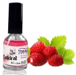 Wild strawberry Cuticle Oil With Vitamins A, E, F & H - 10 ml