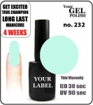 gel polish - smalto - 8ml - Venice (no. 232)