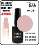 Gel Polish - 15ml - Cappucino (no. 241)