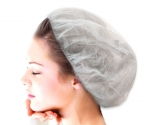 Cap for cosmetic procedures - White