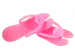 Disposable flip flops for pedicure beauty salon pink!