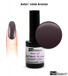 LED Gel soak off 30 sec - viola bronzo 15ml