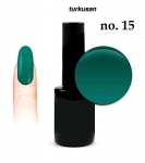GEL Polish - Soak Off - turkusan 8ml (15)