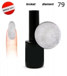 LED Gel soak off 30 sec - diamond glitter 15ml (79)